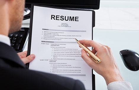 Keep Your Resume Positive