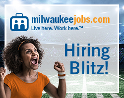 Hiring Blitz is happening now at MilwaukeeJobs.com. We're hiring Account Executives.