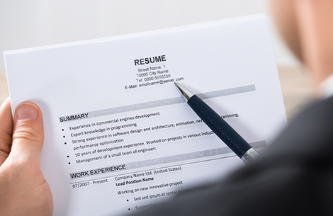 Numbers In Your Resume