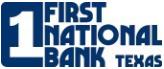 First National Bank Texas