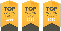 Milwaukee Journal Sentinal Top Workplaces 2014 2015 2016