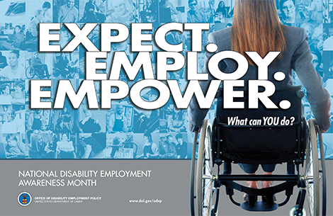 Celebrating National Disability Employment Awareness Month (NDEAM)