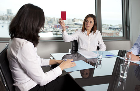 Unsuccessful Interview Tactic: Overwhelm the Interviewer