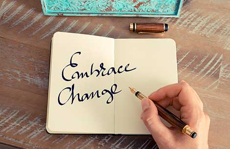 Embrace Change in the New Year