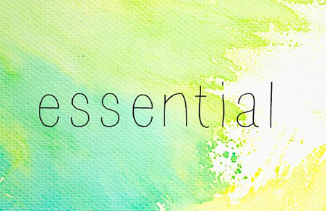 My Word Of The Year For 2017: Essential