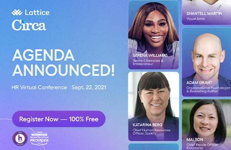 Serena Williams at RfH Virtual 2021